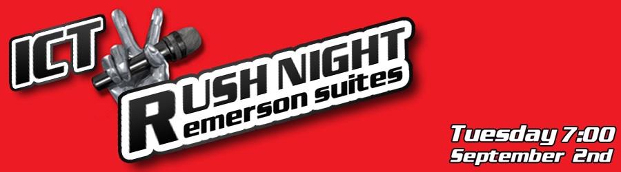 Come to ICTV Rush Night